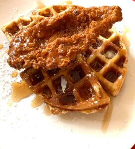 Chef Nigel's Chicken & Waffles