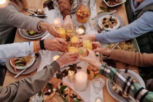friends-gathering-at-dinner-table